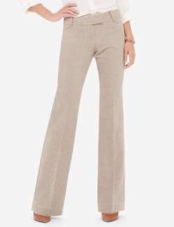 The Limited - Cassidy Herringbone Classic Flare Pants