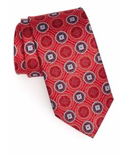 J.Z. Richards - Medallion Silk Tie