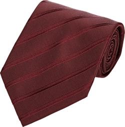 Armani Collezioni - Diagonal-Striped Twill Jacquard Necktie