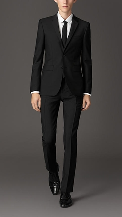 Burberry - Slim Fit Wool Mohair Suit