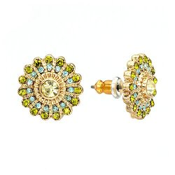 LC Lauren Conrad - Flower Button Stud Earrings
