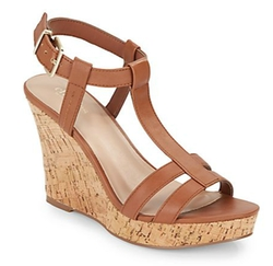 Charles by Charles David  - Love Leather Platform Wedges