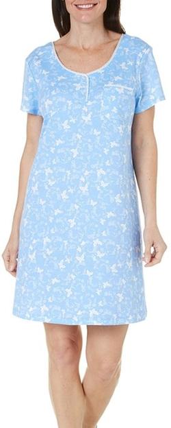 Karen Neuburger  - Womens Butterfly Nightgown