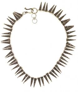 Otazu - Gold Spike Necklace