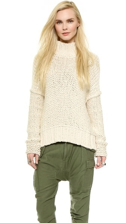 Free People - Long Summer Pullover Sweater