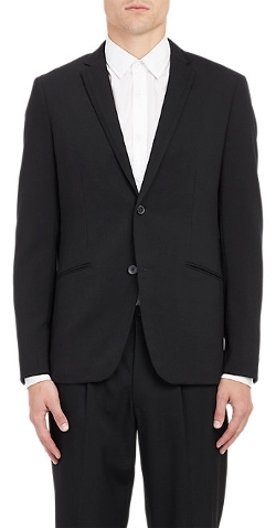 Theory -  Two-Button Tuxedo Jacket