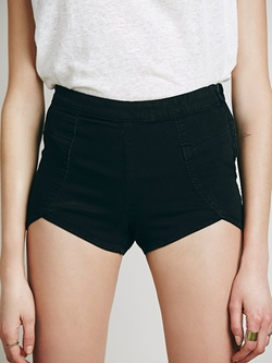 Free People - Denim Petal Brief Shorts