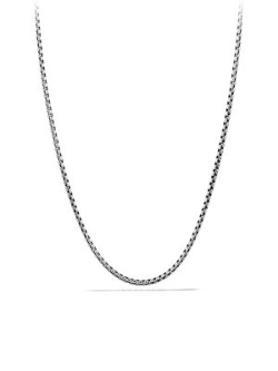 David Yurman - Sterling Silver Link Chain Necklace