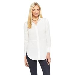 Target - Split Hem Button Down Shirt