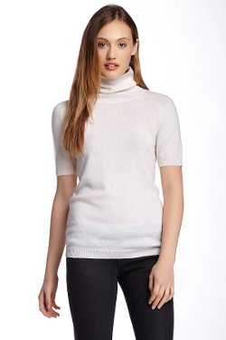 Magaschoni - Short Sleeve Turtleneck Cashmere Sweater