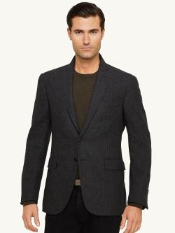 Ralph Lauren Black Label - Tickweave Wool Nigel Jacket