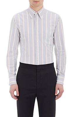 Thom Browne - Striped Oxford Cloth Shirt