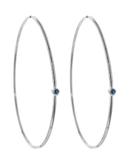 Jennifer Meyer - Medium Hoop Earrings