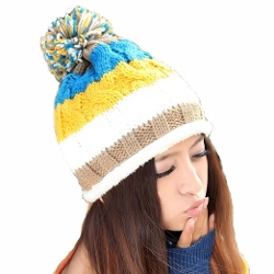 Only Faith  - Winter Warm Knitted Beanie Hat