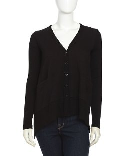 W by Wilt - Slanted Button Cardigan Sweater