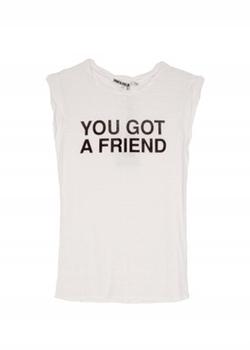 Pam And Gela - You Got A Friend Muscle Shirt