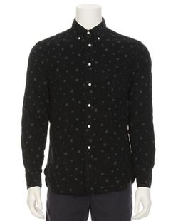 Gitman Brothers Vintage - Dot Print Corduroy Shirt