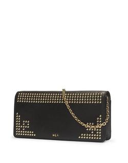 Lauren Ralph Lauren  - Studded Leather Clutch Bag