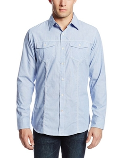 Burnside  - Infinity Long Sleeve Woven Shirt