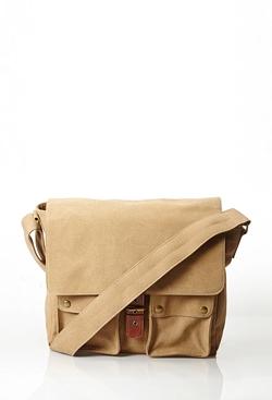 21Men - Canvas Messenger Bag