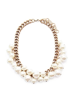 Forever21 - Faux Pearl Statement Necklace