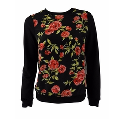 Made For Impulse - Floral Print Sweater