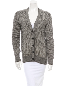 Chloé - Rib Knit Trim Cardigan