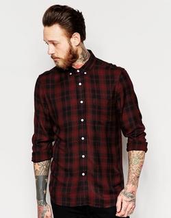 Asos - Viscose Check Shirt
