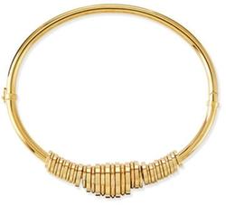Chloé - Freja Brass Collar Necklace
