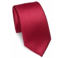 Charvet - Solid Textured Silk Tie