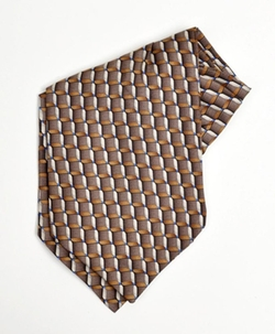 Dapper World - Silk Printed Ascot