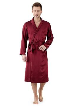 Narasilk  - Men Lux Long Sleeve Robe