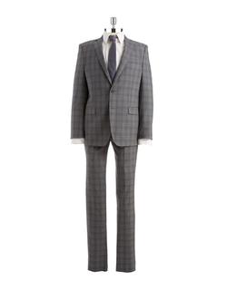 DKNY - Plaid Suit