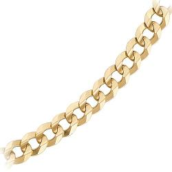 Fred Meyer Jewelers - Curb Link Neck Chain in 10K Yellow Gold