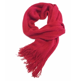 Glam Squad Shop - Red Knit Scarf