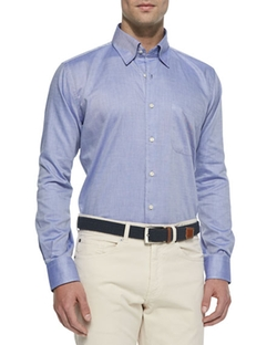 Peter Millar - Solid Oxford Dress Shirt