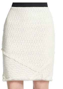 Elie Tahari - Janet Tweed Pencil Skirt