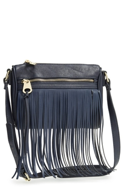 Emperia - Fringe Faux Leather Crossbody Bag