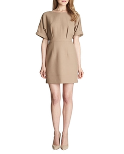 Cynthia Steffe - Ava Cuffed-Short-Sleeve Dress
