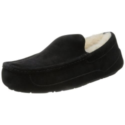 Ugg - Mens Fleece Slippers With Checked Inner