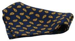 David Van Hagen  - Black Vintage Handkerchief