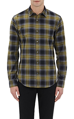 Vince - Plaid Twill Shirt