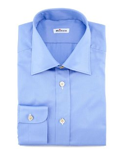 Kiton	 - Solid Basic Dress Shirt