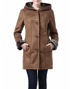 BGSD - Sharon Faux Shearling Coat
