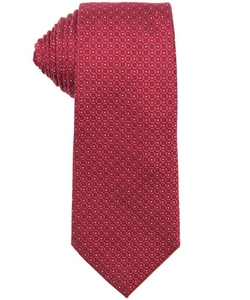 Armani  - Square And Dot Print Silk Tie