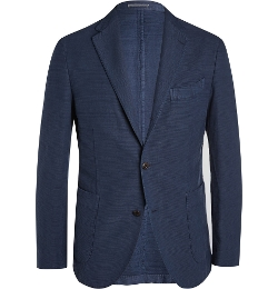 Boglioli - Cotton and Linen-Blend Blazer