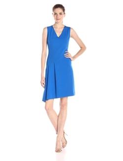 T Tahari - Jensen Double-Knit Dress