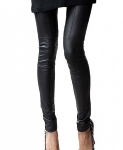 Chicnova - Faux Leather Leggings