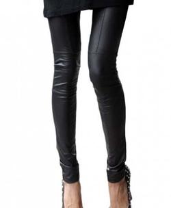 Chicnova - Faux Leather Leggings