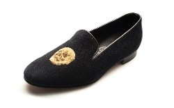George Cleverly - Golden Skull Slippers